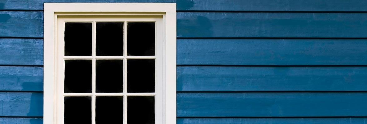 ...dřevěná okna...